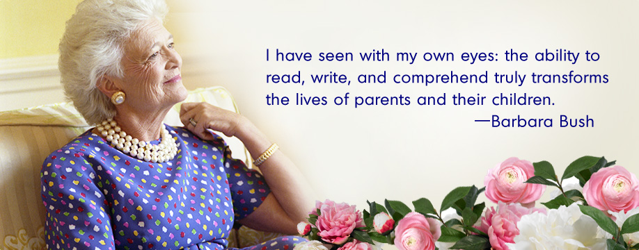 I have seen with my own eyes: the ability to read, write, and comprehend truly transforms the lives of parents and their children.